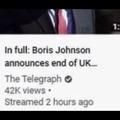 Por fin,se terminó el Reino Unido