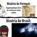 Portugal não tem o Xandão, Silvio Santos e Et Bilu, isso anula qualquer argumento deles
