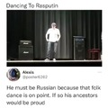 There lived a certain man in Russia long ago, he was big and strong...